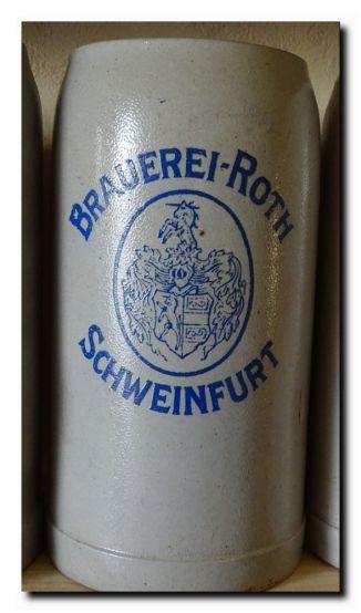 1 Liter Steinkrug aus den 1940 er Jahren