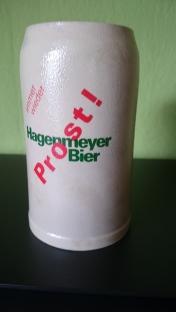 1 Liter Steinkrug aus den 1960 er Jahren