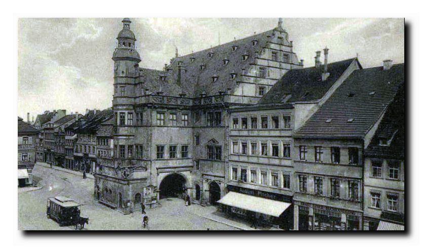 Rathaus im Jahre 1924