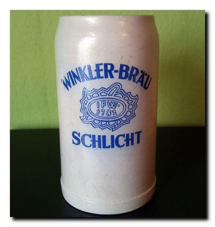 Winkler Bräu Schlicht – Bierkrug Wiki