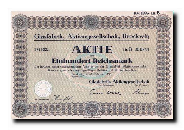 Acktie 1933
