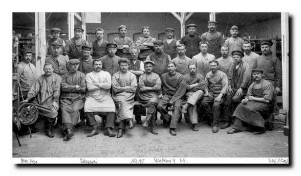 schlosserei 1910